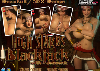 High stakes blackjack with Jessenia