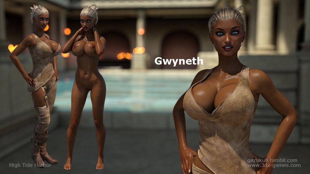 High tide harbor - Gwyneth