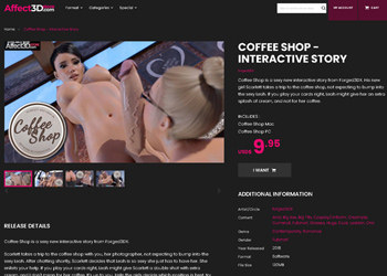 Coffee Shop - Interactive Story