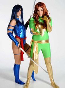 Natalia and Sophie - Telekinetic Blazing Phoenix